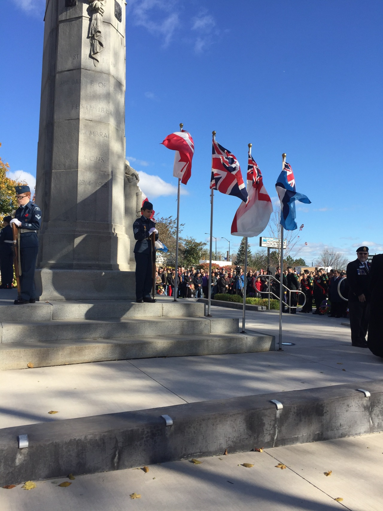 Remembrance Day in St. Catharines